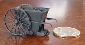 HO Scale Coal Cart