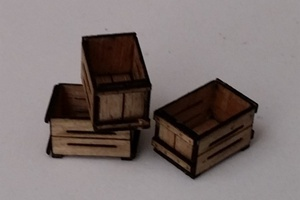 O Scale Cranberry Boxes