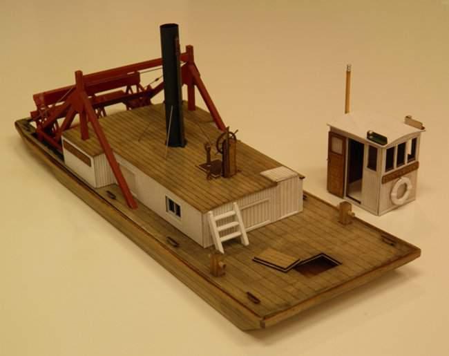 O Scale 1 48 Stern Paddlewheel Steam Tug Traintroll