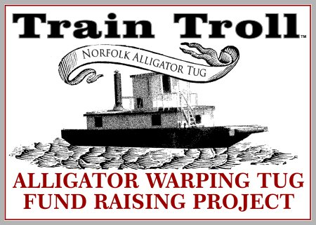 Train Troll Alligator Warping Tug Fund Raising Project